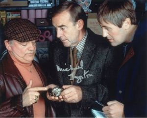 Michael Jayston hand signed autograph